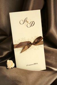 Zaproszenia ślubne2 201x300 - Zaproszenia na ślub - z osobą towarzyszącą czy bez?