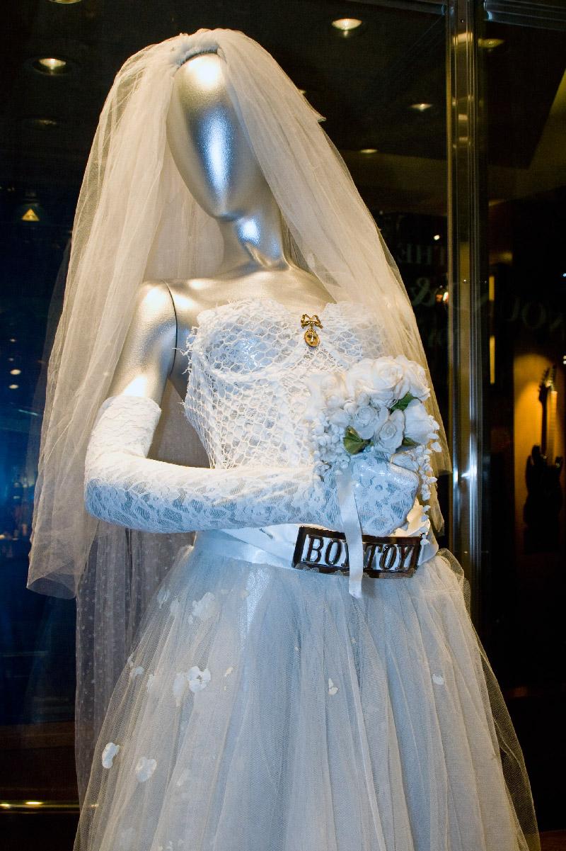 MadonnaLikeAVirginWeddingDress - Najczęstsze wpadki stylizacyjne popełniane przez Pannę Młodą