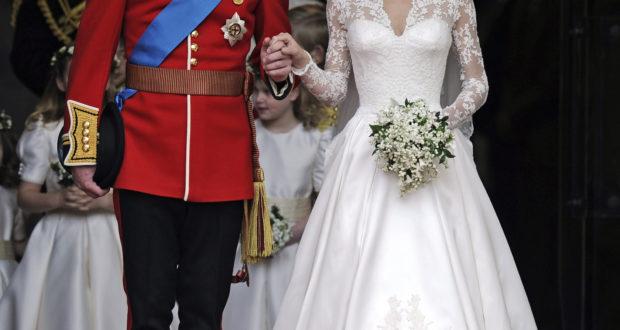 Suknia Kate Middleton 1 620x330 - Najdroższe suknie ślubne świata