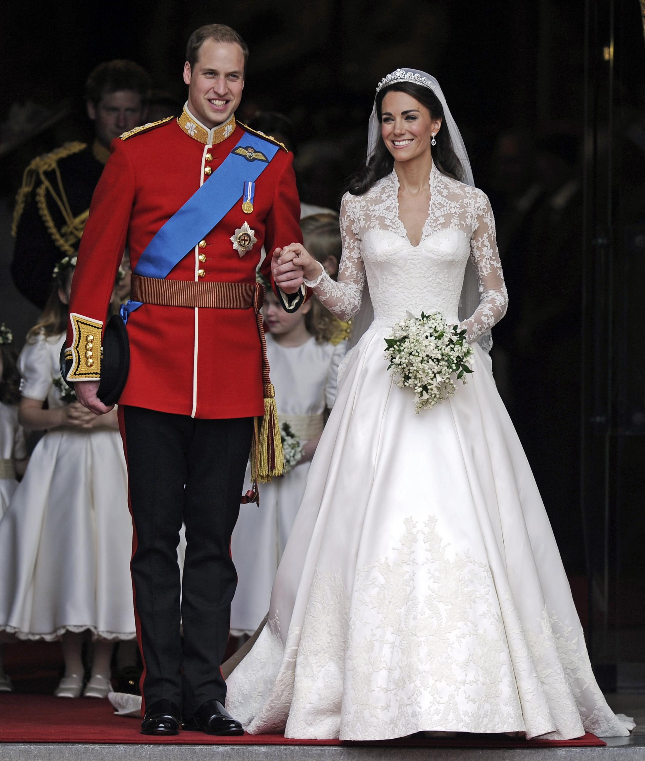 Suknia Kate Middleton 1 - Najdroższe suknie ślubne świata