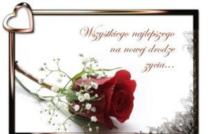 Najpiękniejsze życzenia ślubne dla młode pary. teksty wierszyki