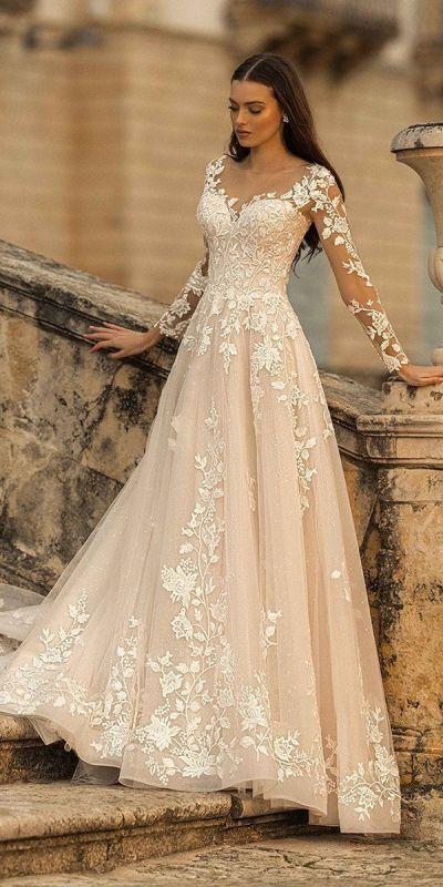 Suknie ślubne koronkowe